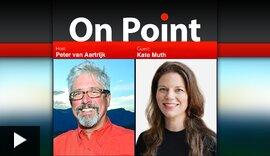 On Point Podcast - Photo of Peter Van Aartrijk and Kate Muth